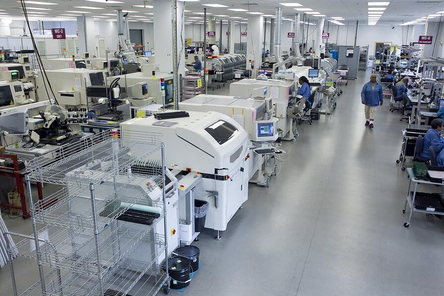 Zentech Manufacturing PCB Assembly in Baltimore Maryland