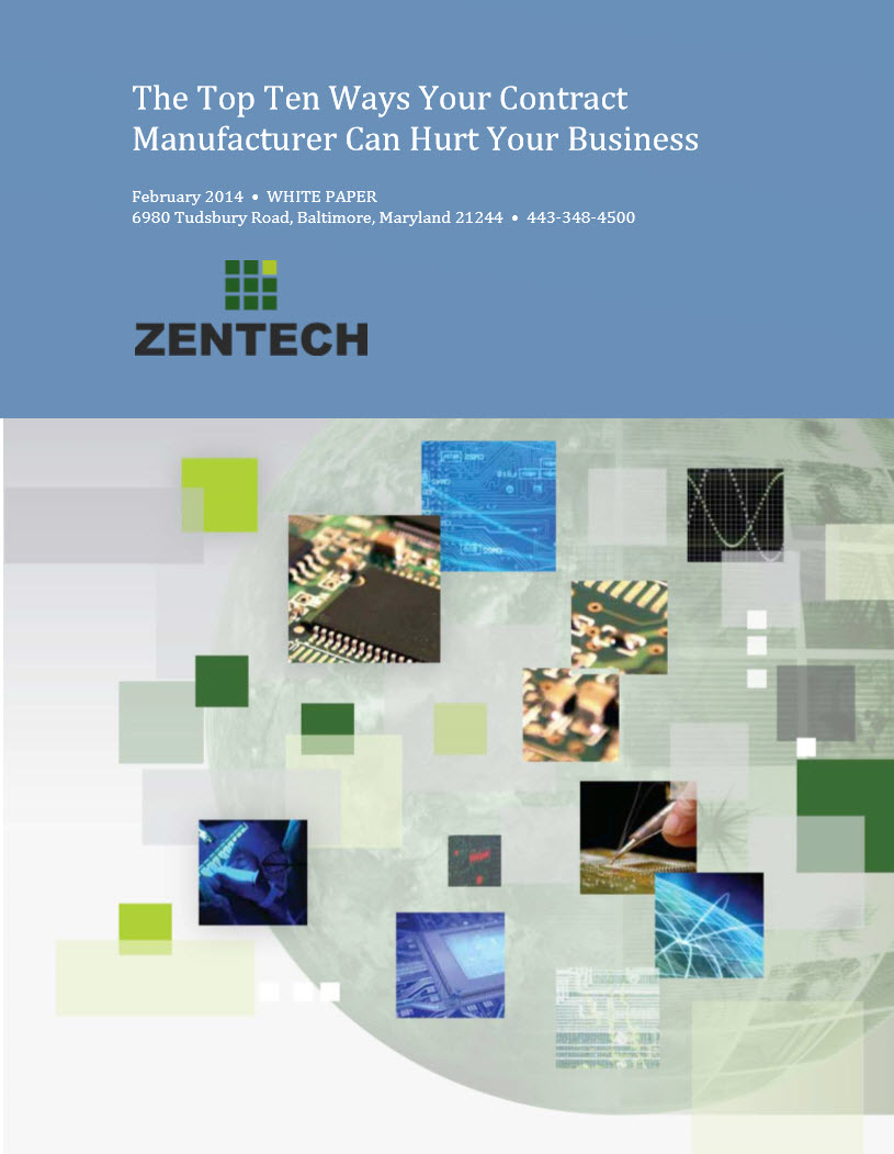 How Contract Manufacturers Can Hurt Your business
